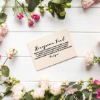 Wedding Gift List Card