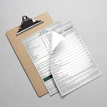 A4 Folded Price Lists Ireland