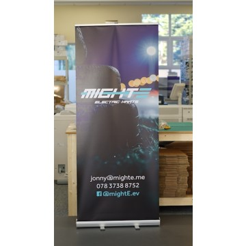 Roll Up Banner Replacement Graphic