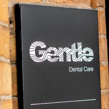 Dibond Panel Printing Gentle dental Ireland