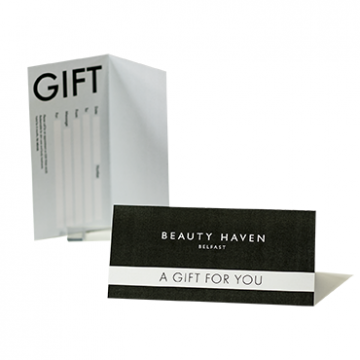 Gift Voucher printing for Salons Ireland