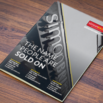 A4 Booklets with Heavy Gloss Laminated Cover printing
