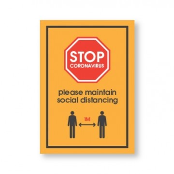 Outdoor Social Distancing Posters
