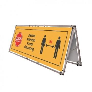 3x1m A Frame & PVC Banners