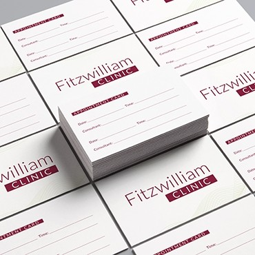 Appointment card printing Ireland