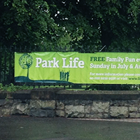 Pure PVC outdoor banner Ireland