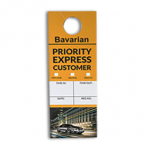 Bavarian vehicle window hanger back
