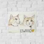Canvas Printing Ireland art cat