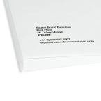 Branded envelope printing ireland corner