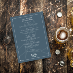 Single Use Restaurant Menu printing