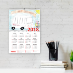 Wall Calendar Printing Ireland A3