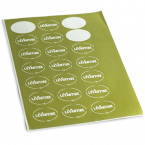 Oval sticker printing Ireland