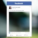 Facebook selfie frame printing Ireland