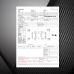 Customer / Vehicle Appraisal Pad printing Ireland