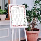 Table Plan Printing wedding ireland
